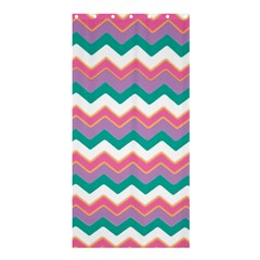 Chevron Pattern Colorful Art Shower Curtain 36  X 72  (stall)