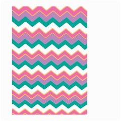 Chevron Pattern Colorful Art Small Garden Flag (two Sides)