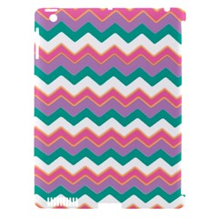 Chevron Pattern Colorful Art Apple iPad 3/4 Hardshell Case (Compatible with Smart Cover)