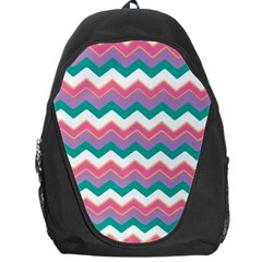 Chevron Pattern Colorful Art Backpack Bag