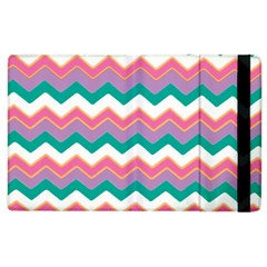Chevron Pattern Colorful Art Apple Ipad 3/4 Flip Case