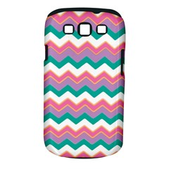 Chevron Pattern Colorful Art Samsung Galaxy S Iii Classic Hardshell Case (pc+silicone)