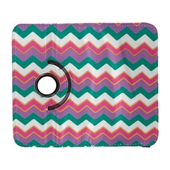 Chevron Pattern Colorful Art Galaxy S3 (flip/folio)