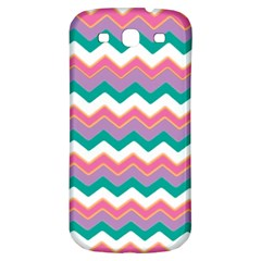 Chevron Pattern Colorful Art Samsung Galaxy S3 S Iii Classic Hardshell Back Case