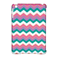 Chevron Pattern Colorful Art Apple Ipad Mini Hardshell Case (compatible With Smart Cover)