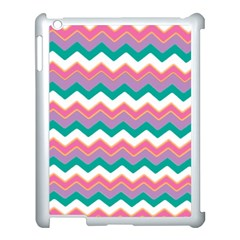 Chevron Pattern Colorful Art Apple Ipad 3/4 Case (white)