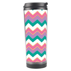 Chevron Pattern Colorful Art Travel Tumbler