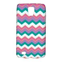 Chevron Pattern Colorful Art Galaxy S4 Active
