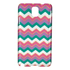 Chevron Pattern Colorful Art Samsung Galaxy Note 3 N9005 Hardshell Case