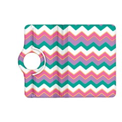 Chevron Pattern Colorful Art Kindle Fire Hd (2013) Flip 360 Case