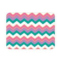 Chevron Pattern Colorful Art Double Sided Flano Blanket (mini)