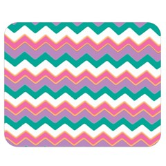 Chevron Pattern Colorful Art Double Sided Flano Blanket (medium)