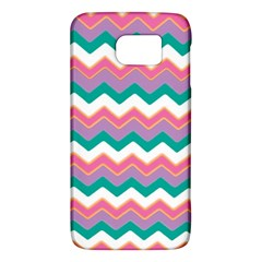 Chevron Pattern Colorful Art Galaxy S6