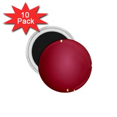 Red Background With A Pattern 1 75  Magnets (10 Pack)