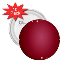 Red Background With A Pattern 2 25  Buttons (10 Pack)