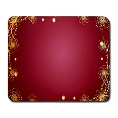Red Background With A Pattern Large Mousepads