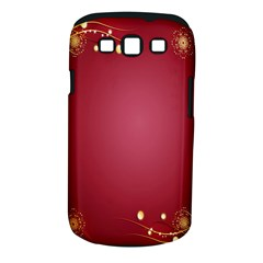 Red Background With A Pattern Samsung Galaxy S Iii Classic Hardshell Case (pc+silicone)