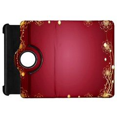 Red Background With A Pattern Kindle Fire Hd 7