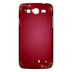 Red Background With A Pattern Samsung Galaxy Mega 5 8 I9152 Hardshell Case