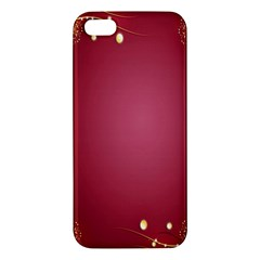 Red Background With A Pattern Iphone 5s/ Se Premium Hardshell Case