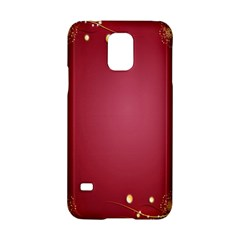 Red Background With A Pattern Samsung Galaxy S5 Hardshell Case