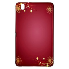 Red Background With A Pattern Samsung Galaxy Tab Pro 8 4 Hardshell Case