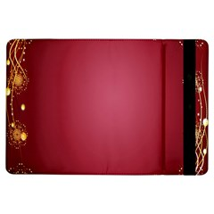 Red Background With A Pattern Ipad Air Flip
