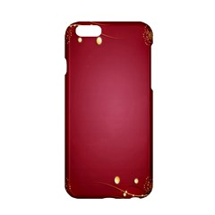 Red Background With A Pattern Apple Iphone 6/6s Hardshell Case