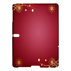 Red Background With A Pattern Samsung Galaxy Tab S (10 5 ) Hardshell Case
