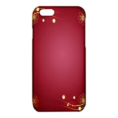 Red Background With A Pattern iPhone 6/6S TPU Case