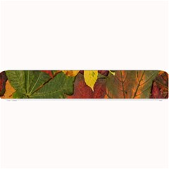 Colorful Autumn Leaves Leaf Background Small Bar Mats