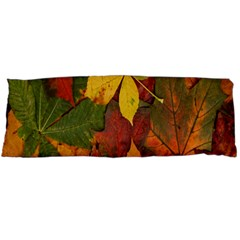 Colorful Autumn Leaves Leaf Background Body Pillow Case Dakimakura (two Sides)