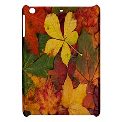Colorful Autumn Leaves Leaf Background Apple Ipad Mini Hardshell Case