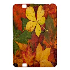 Colorful Autumn Leaves Leaf Background Kindle Fire Hd 8 9