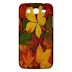 Colorful Autumn Leaves Leaf Background Samsung Galaxy Mega 5 8 I9152 Hardshell Case
