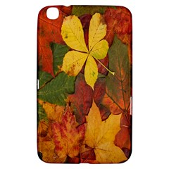 Colorful Autumn Leaves Leaf Background Samsung Galaxy Tab 3 (8 ) T3100 Hardshell Case