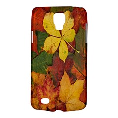 Colorful Autumn Leaves Leaf Background Galaxy S4 Active