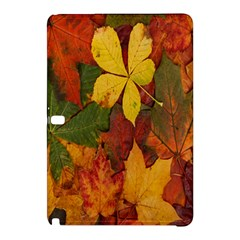 Colorful Autumn Leaves Leaf Background Samsung Galaxy Tab Pro 12 2 Hardshell Case