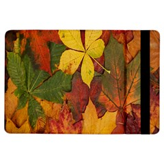 Colorful Autumn Leaves Leaf Background Ipad Air Flip