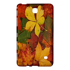 Colorful Autumn Leaves Leaf Background Samsung Galaxy Tab 4 (7 ) Hardshell Case