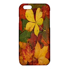 Colorful Autumn Leaves Leaf Background iPhone 6/6S TPU Case