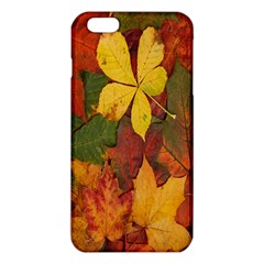 Colorful Autumn Leaves Leaf Background Iphone 6 Plus/6s Plus Tpu Case