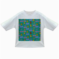 Meow Cat Pattern Infant/toddler T Shirts