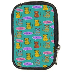 Meow Cat Pattern Compact Camera Cases