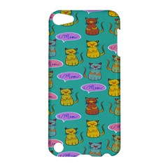 Meow Cat Pattern Apple Ipod Touch 5 Hardshell Case