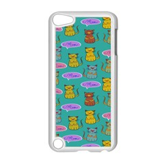 Meow Cat Pattern Apple Ipod Touch 5 Case (white)