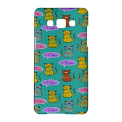Meow Cat Pattern Samsung Galaxy A5 Hardshell Case