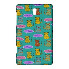 Meow Cat Pattern Samsung Galaxy Tab S (8 4 ) Hardshell Case