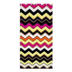 Colorful Chevron Pattern Stripes Shower Curtain 36  X 72  (stall)