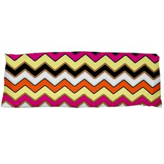 Colorful Chevron Pattern Stripes Body Pillow Case (dakimakura)
